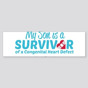 CHD Survivor - Son Bumper Sticker